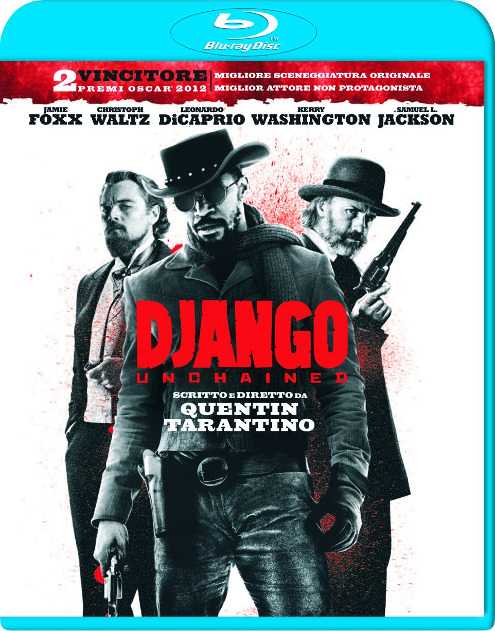 Django Unchained blu-ray cover