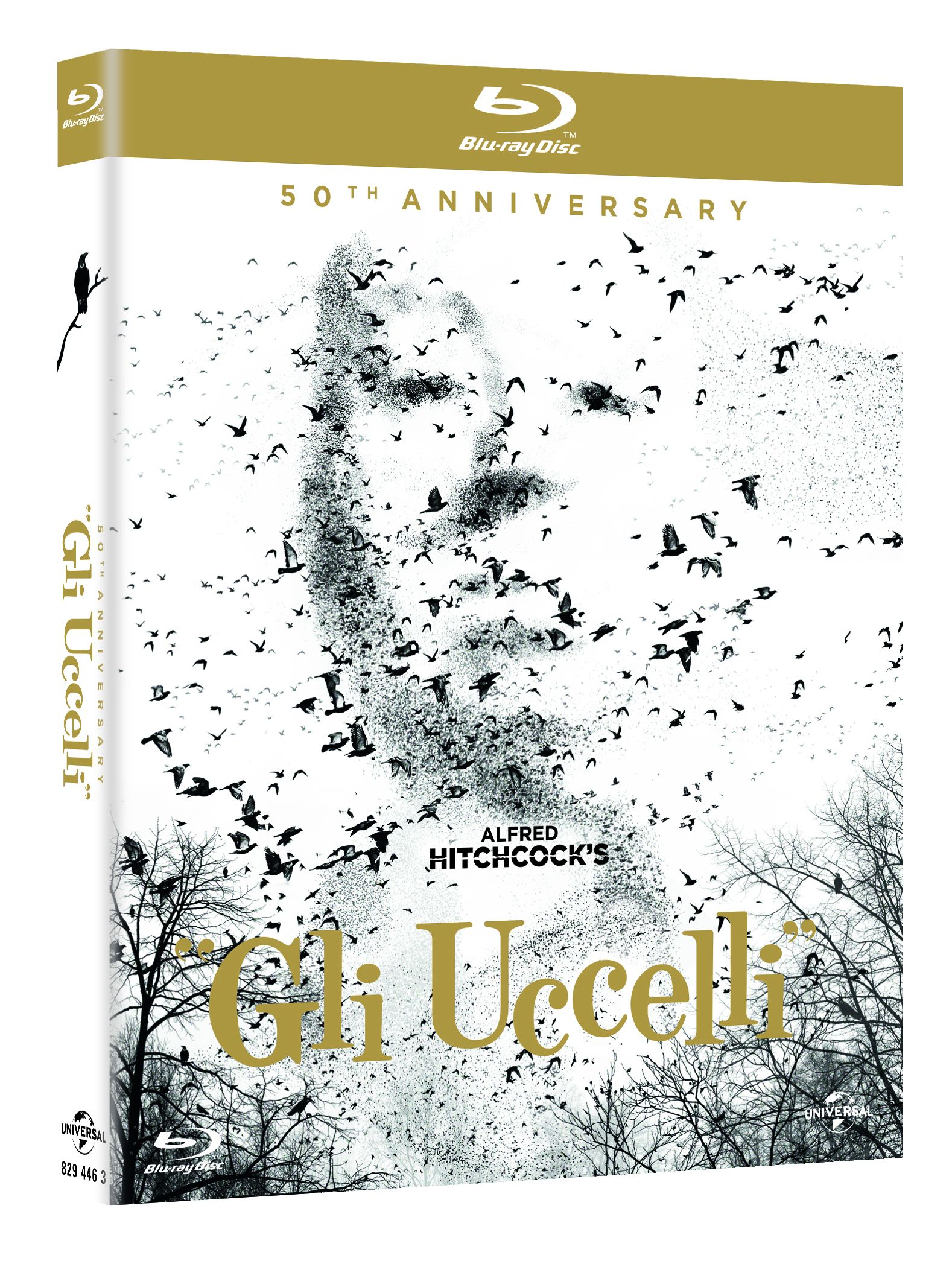 uccelli blu-ray 50th annviersary