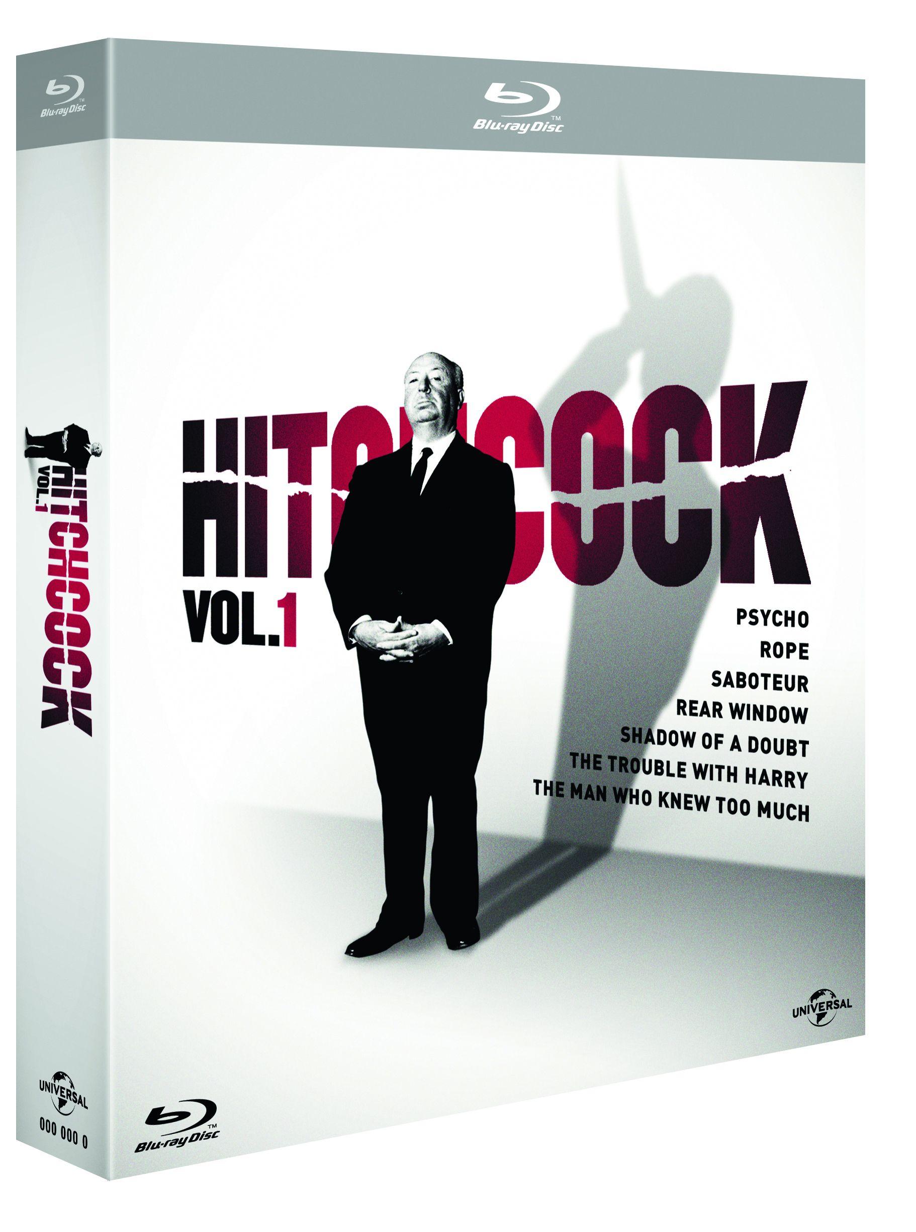 hitchcock boxset 1 blu-ray