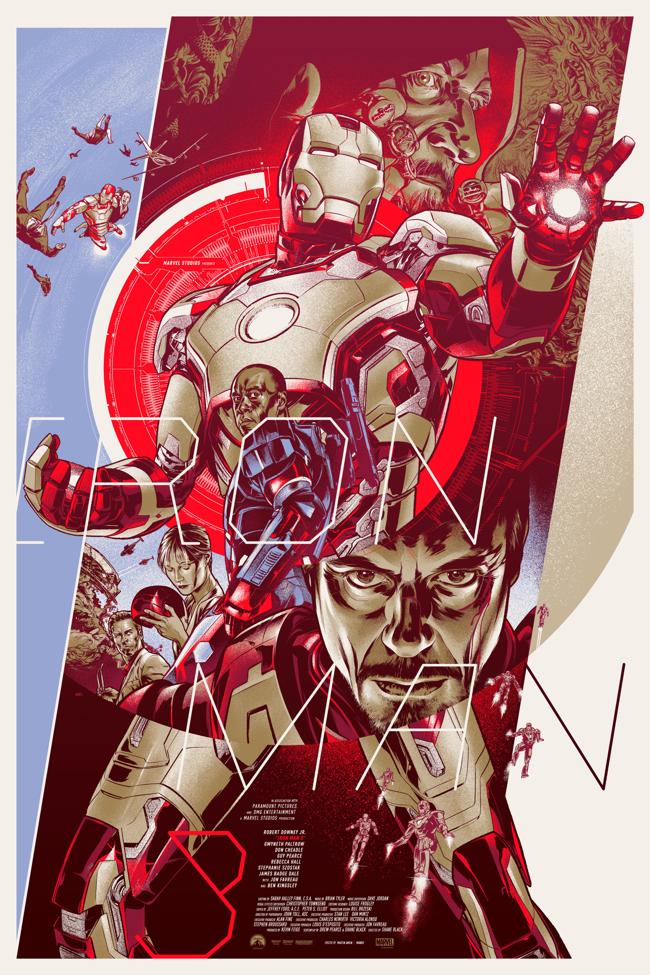 iron-man 3 poster mondo 2