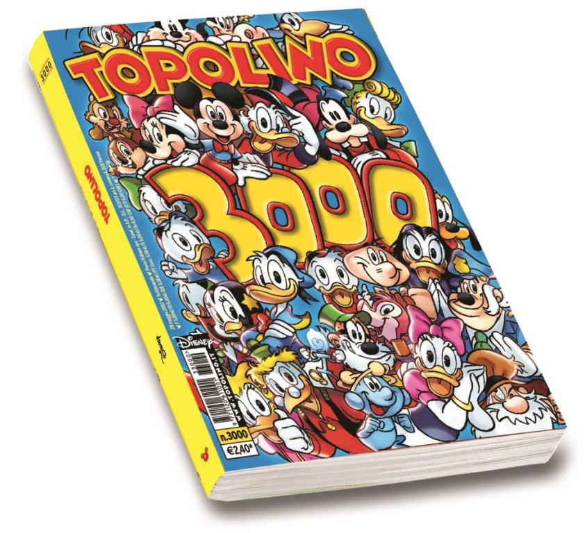 topolino 3000 copertrina cover