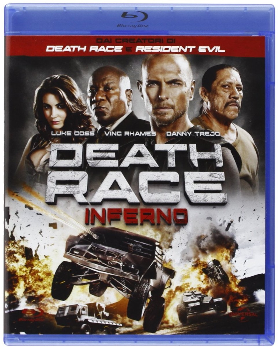 Death Race inferno blu-ray