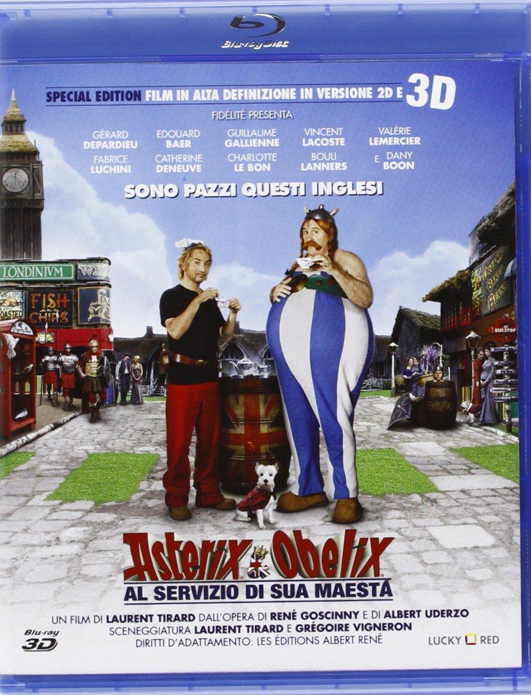 asterix e obelix al servizio di sua maestà blu-ray 3d